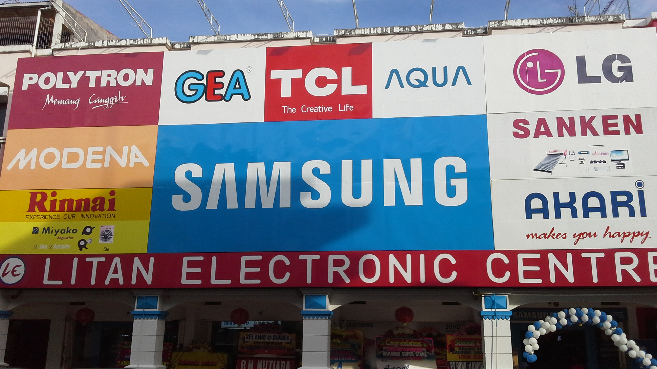 LITAN  ELECTRONIC  : Grand Opening Samsung Superstore