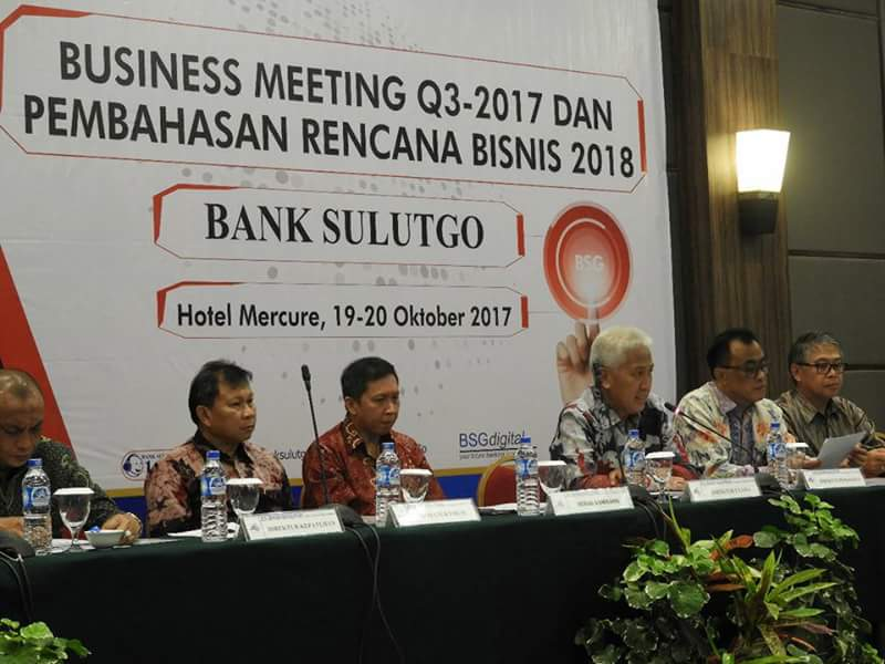 Bank SulutGo Matangkan Program Kerja 2018